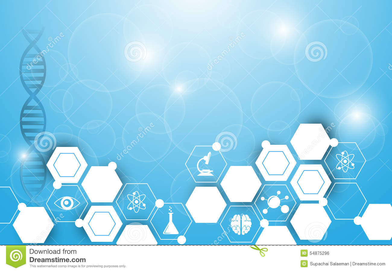 Vector Background Science Abstract Hexagon Design Stock Vector - Image ...