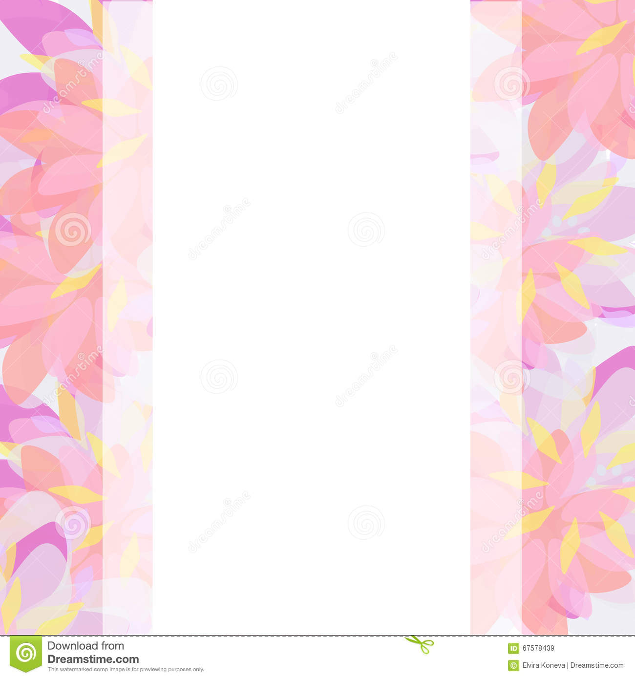 vector background template wedding or birthday invitation abstract