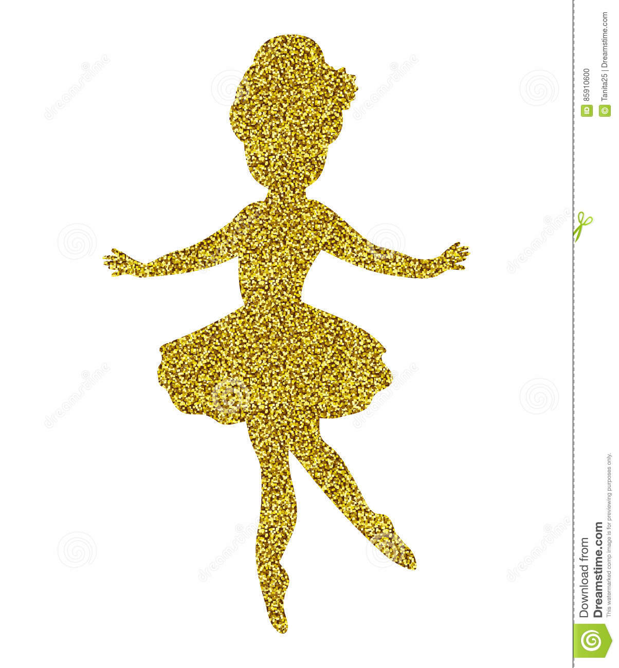 Baby Gold Sparkle Shoes