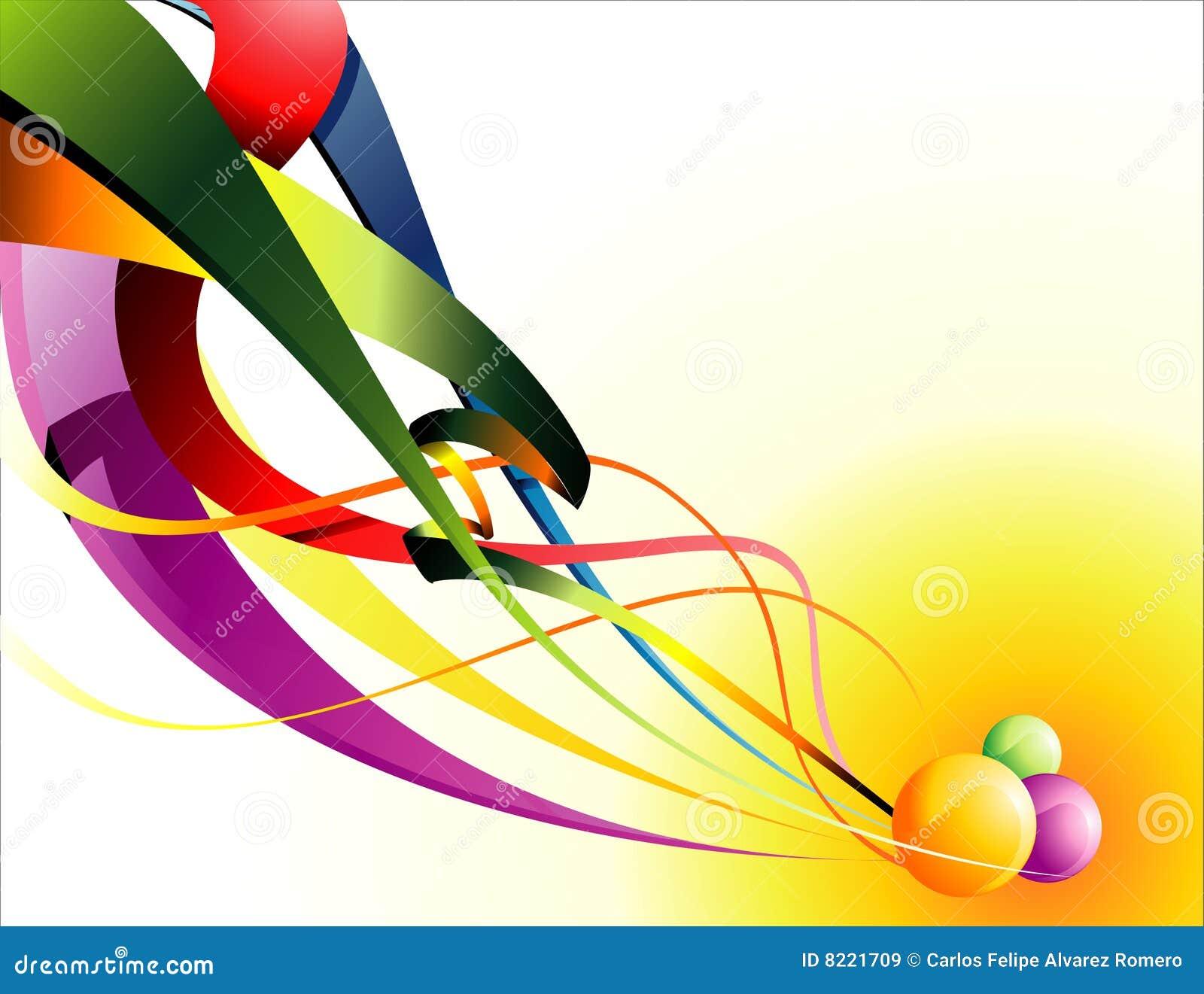 Vector band abstracte samenstelling