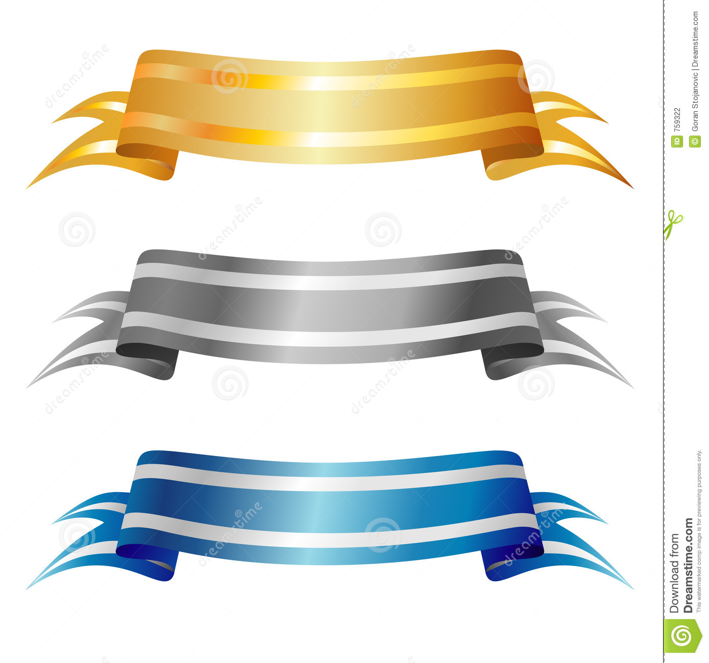 Vector Banners Stock Photography - Image: 759322