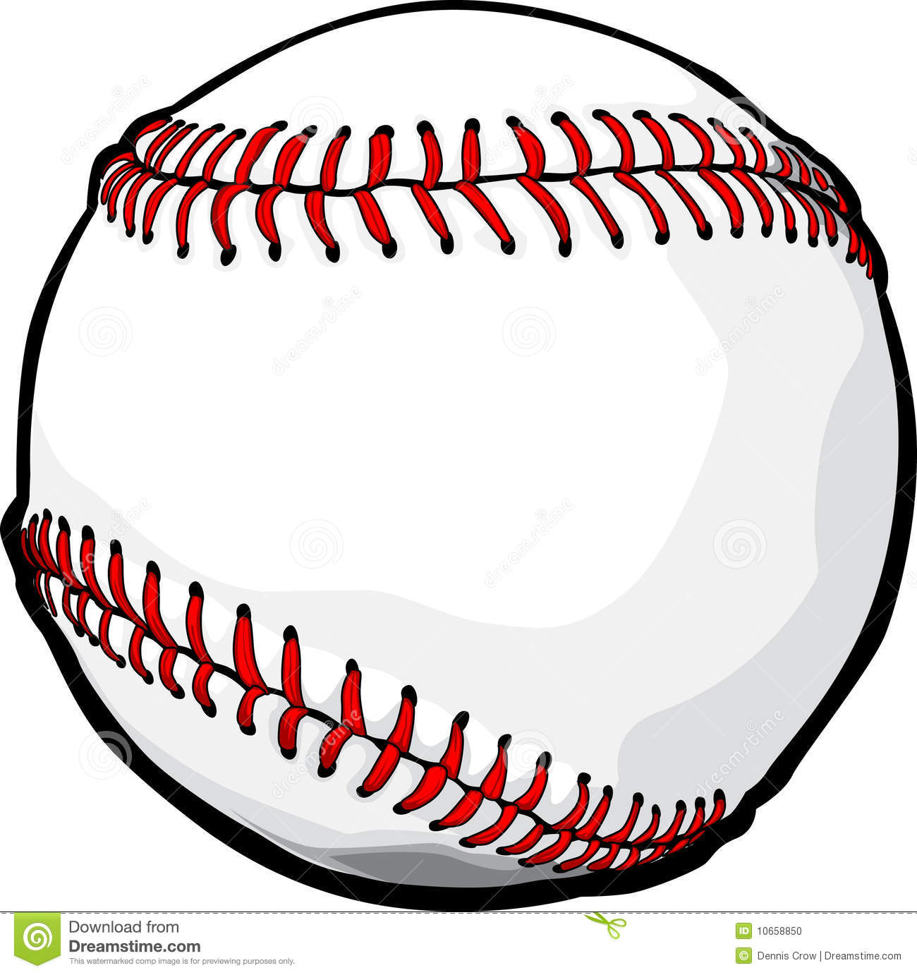 Vector Baseball Ball Image Stock Photo - Image: 10658850