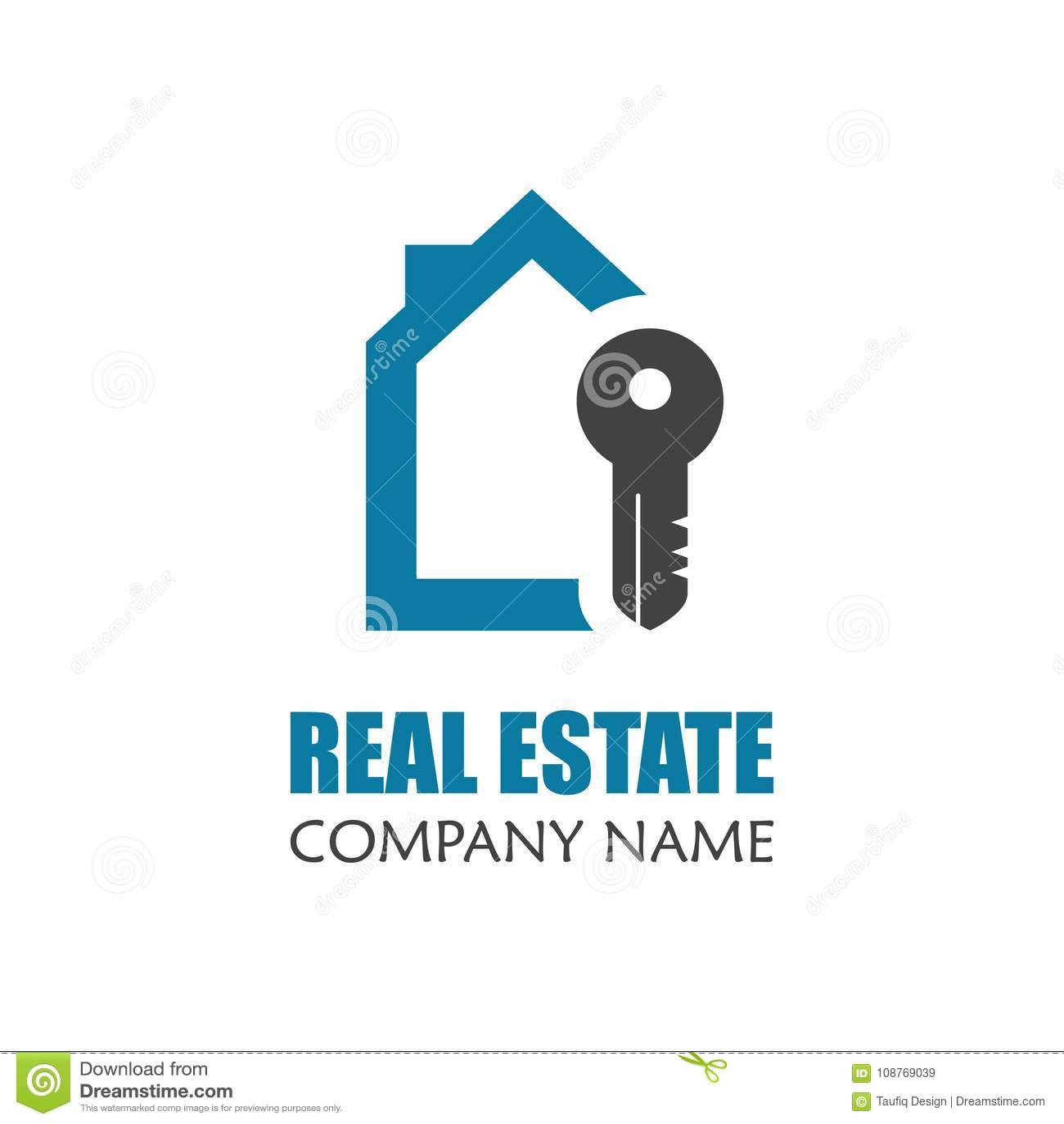 Modern Real Estate Logo Template Creative Home Logo Icon