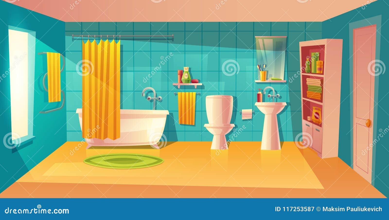 Bathroom Stock Illustrations – 11,11 Bathroom Stock