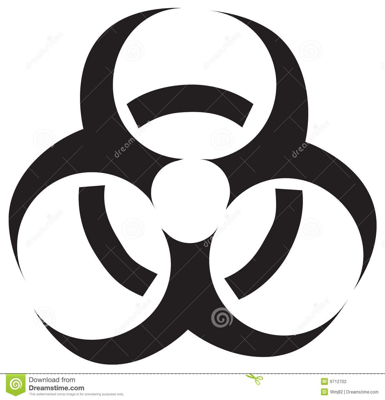 Vector biohazard symbol stock vector illustration of biological vector biohazard symbol biocorpaavc Image collections