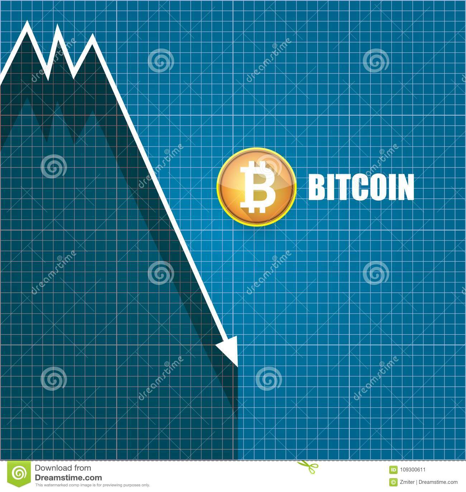 Vector bitcoin market crash graph on blueprint background bitcoin download vector bitcoin market crash graph on blueprint background bitcoin hype concept vector illusrtation with malvernweather Gallery