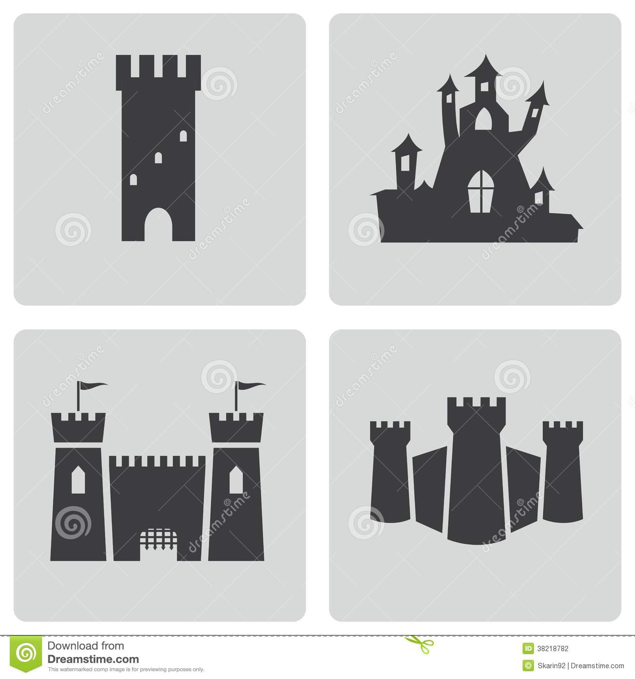 vector black castle icons set stock photography image man playing bagpipes clipart scottish bagpipes clipart
