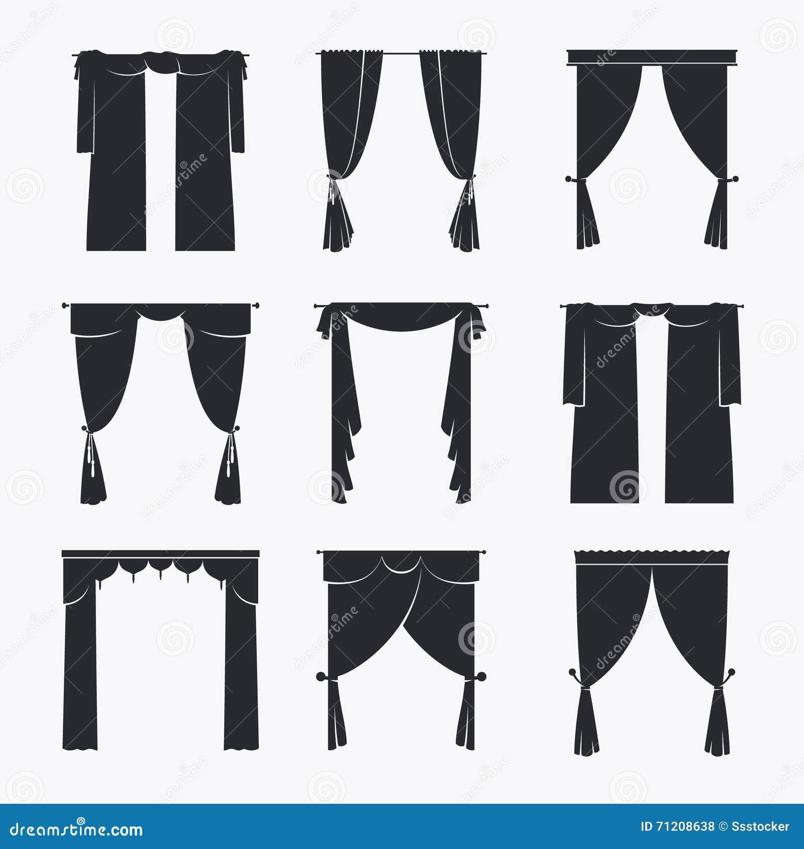 black velvet curtain royalty