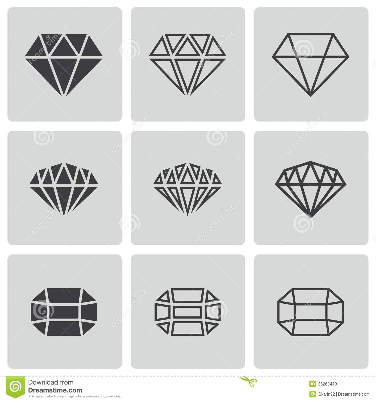 vector diamonds