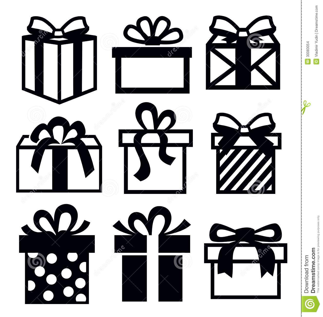 Gift icon stock vector illustration of object birthday 30083054 royalty free stock photo negle Image collections