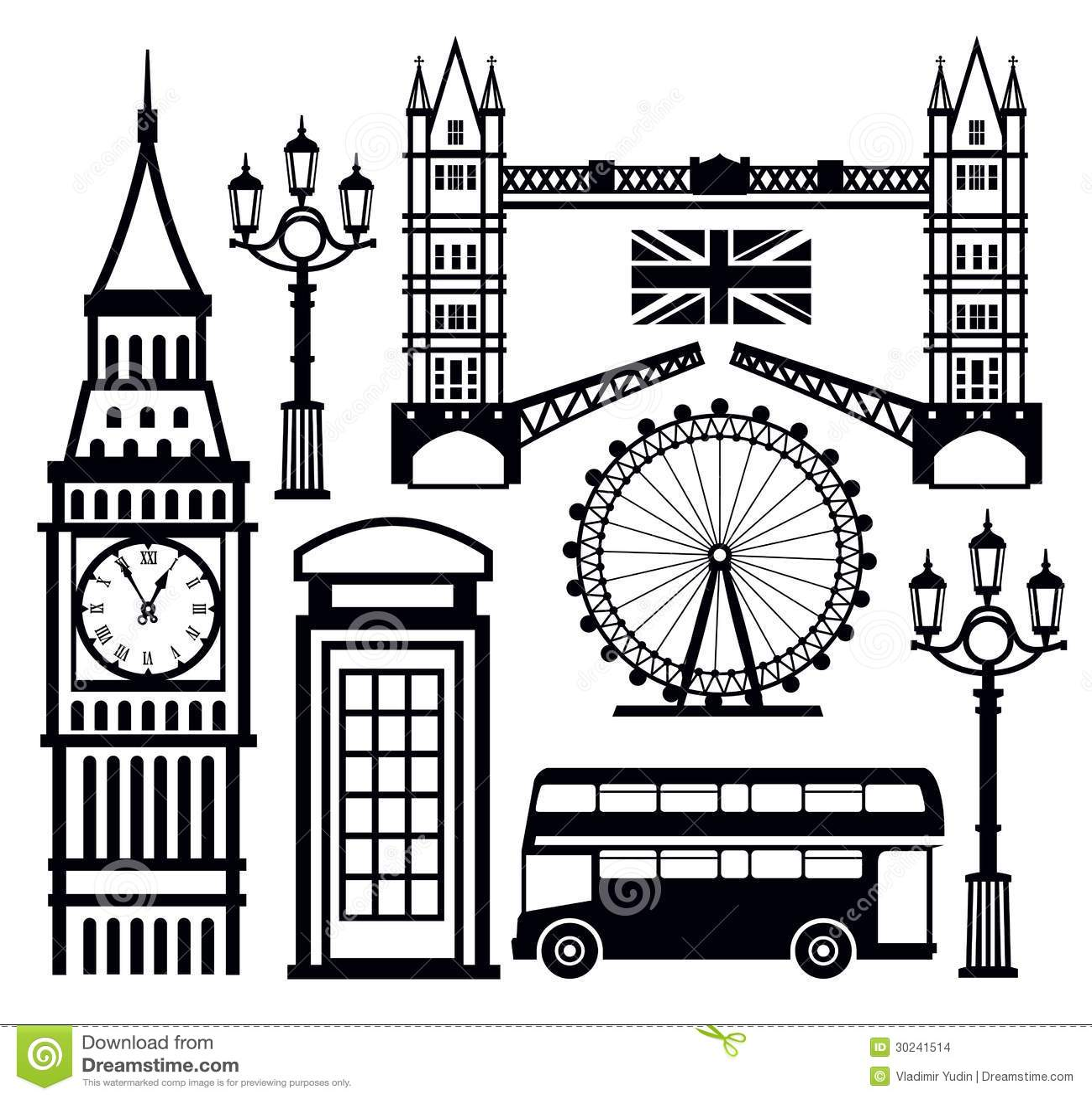 London Icon Stock Images - Image: 30241514