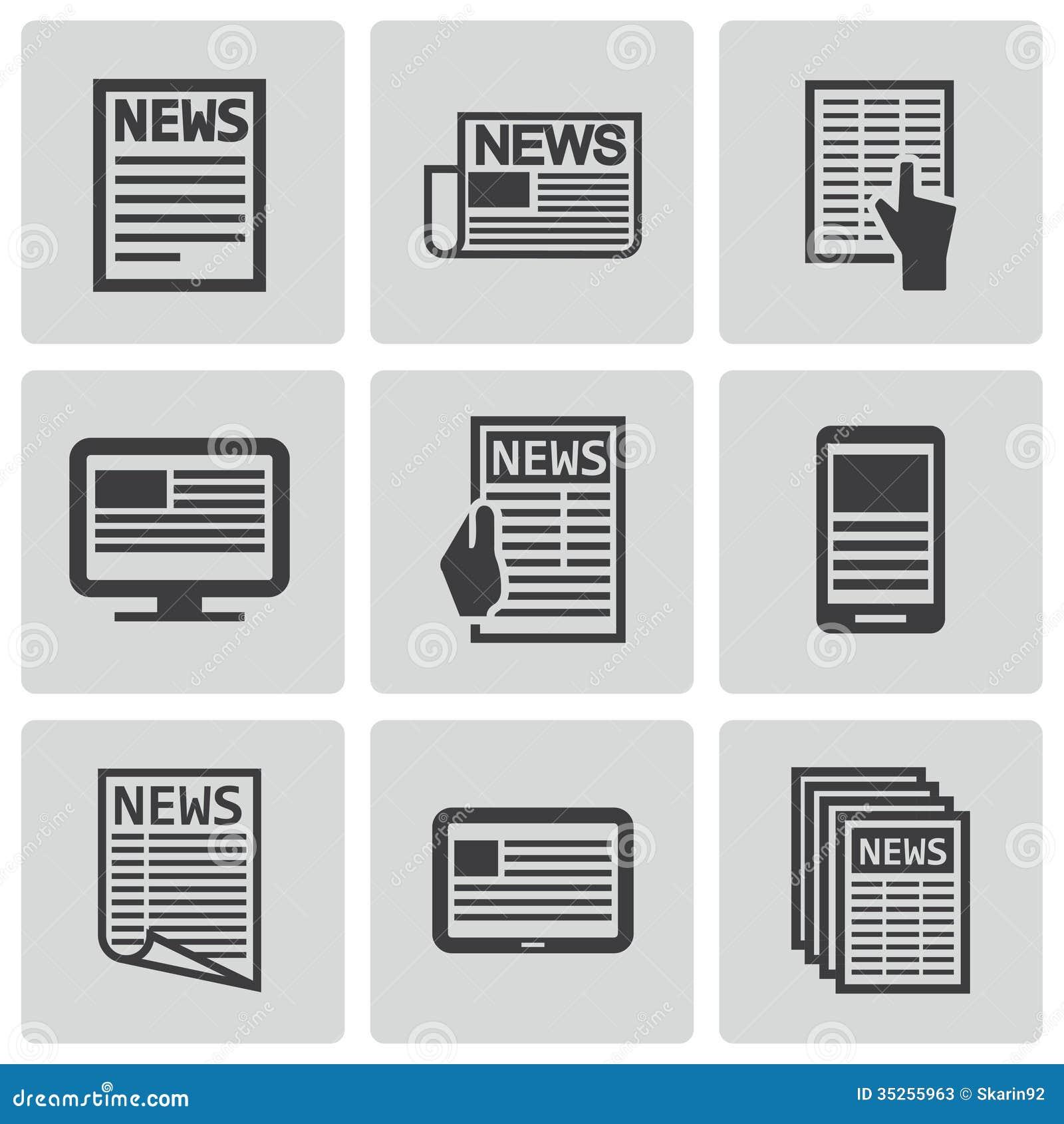 vector black newspaper icons set stock photos image restaurant clip art borders restaurant clip art images