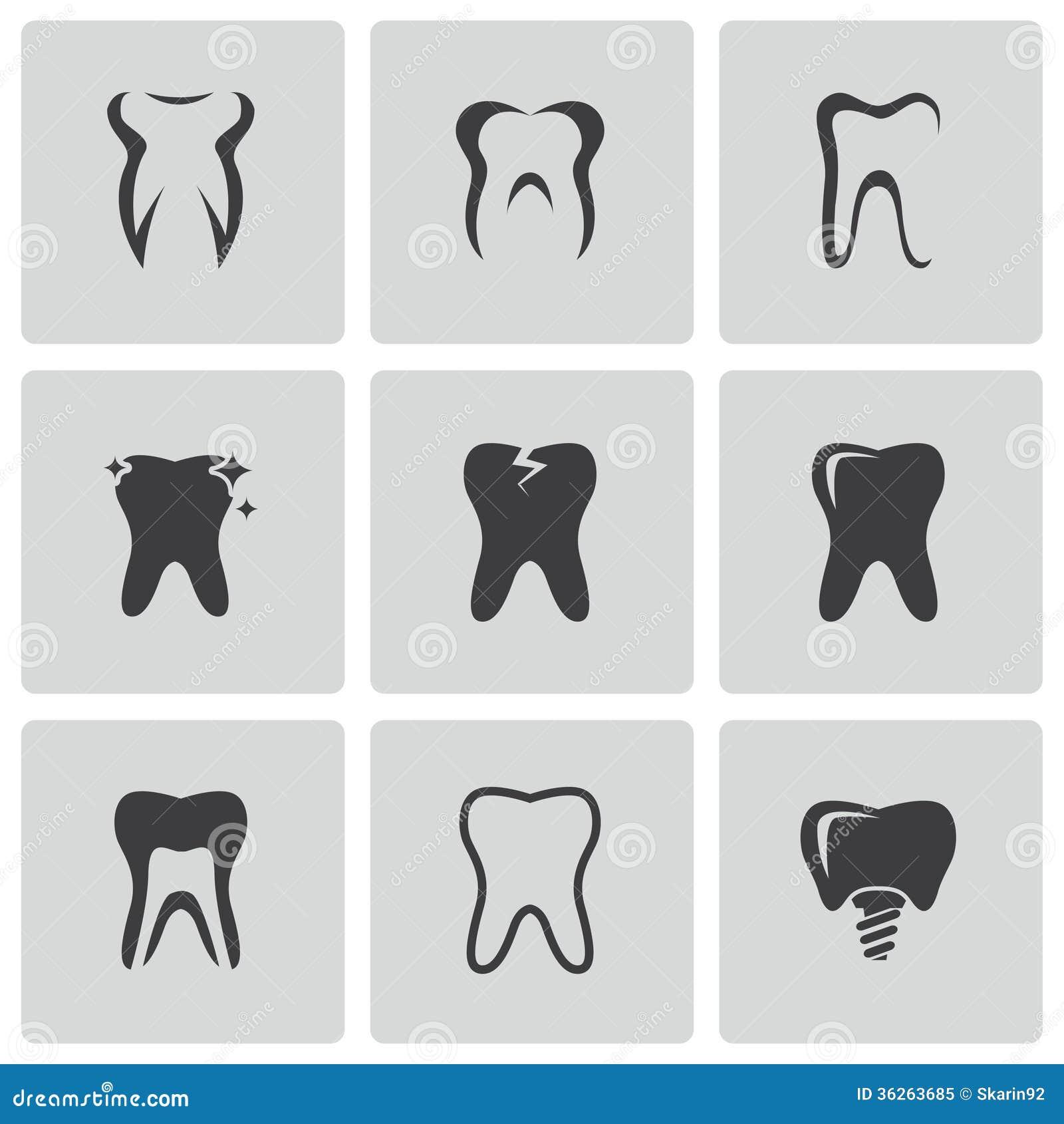 Drawing human ear royalty free stock photography image 25570937 - Vector Black Teeth Icons Set Royalty Free Stock Photo