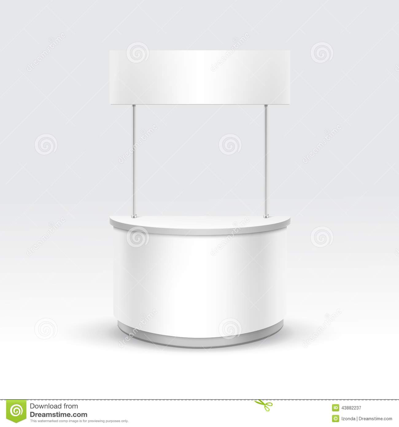 Exhibition Stand Vector : Vector blank exhibition trade stand stock image