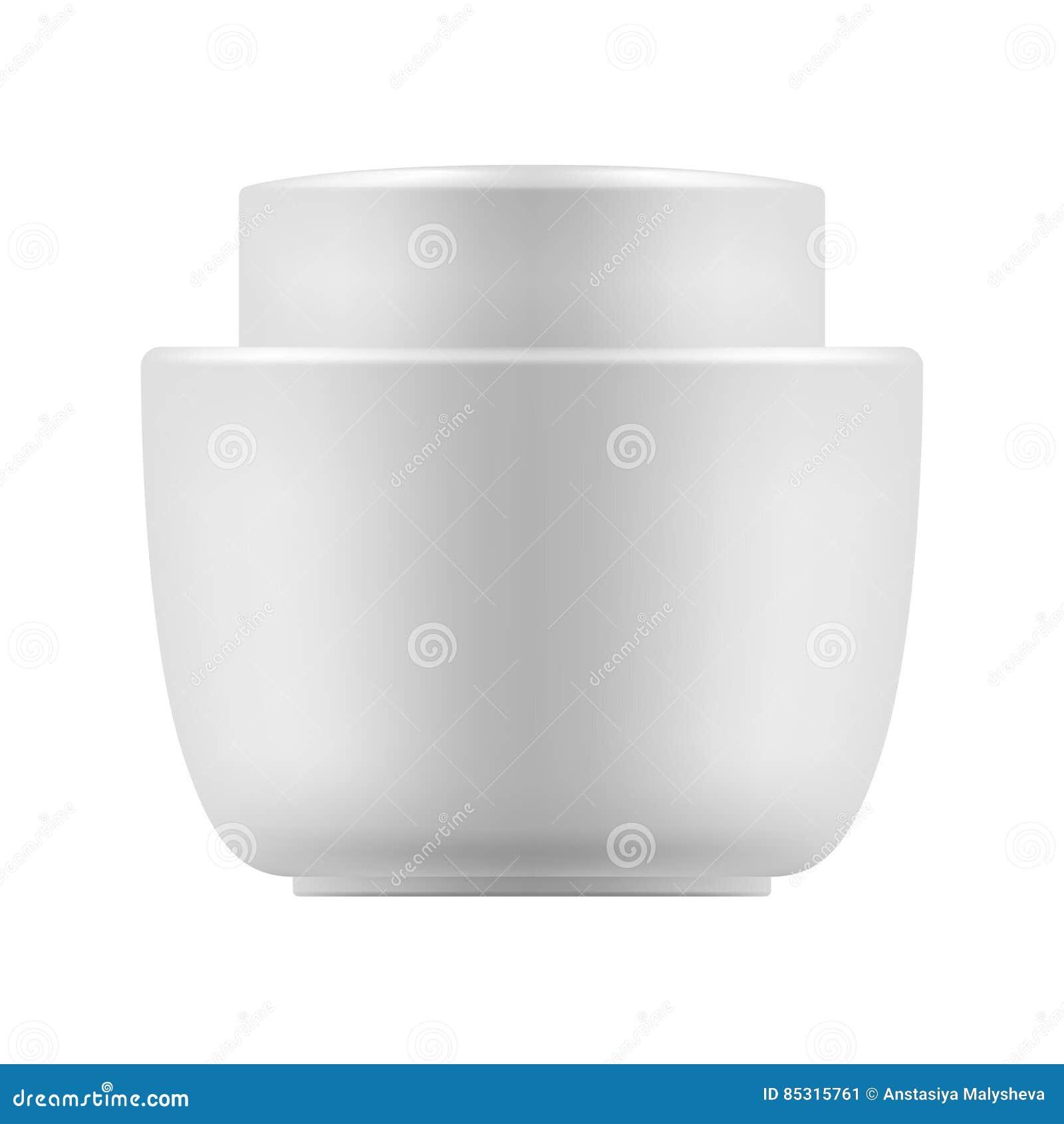 Vector Blank Template Of Jar Stock Vector - Illustration of mockup ...
