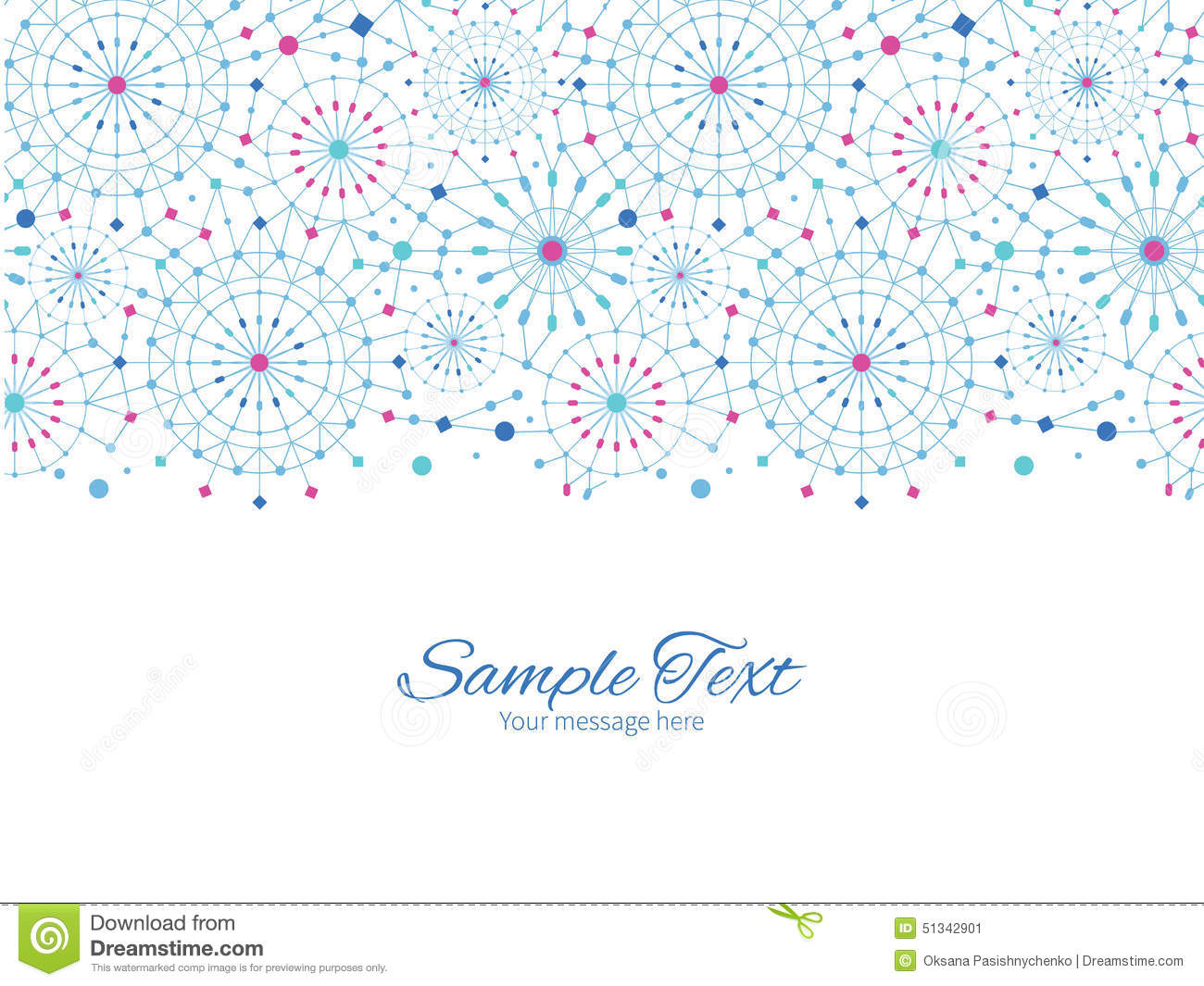 Vector blue abstract line art circles horizontal stock vector download comp stopboris Image collections