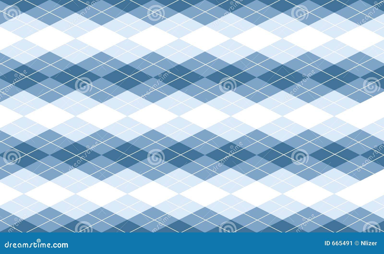 vector blue argyle background stock image