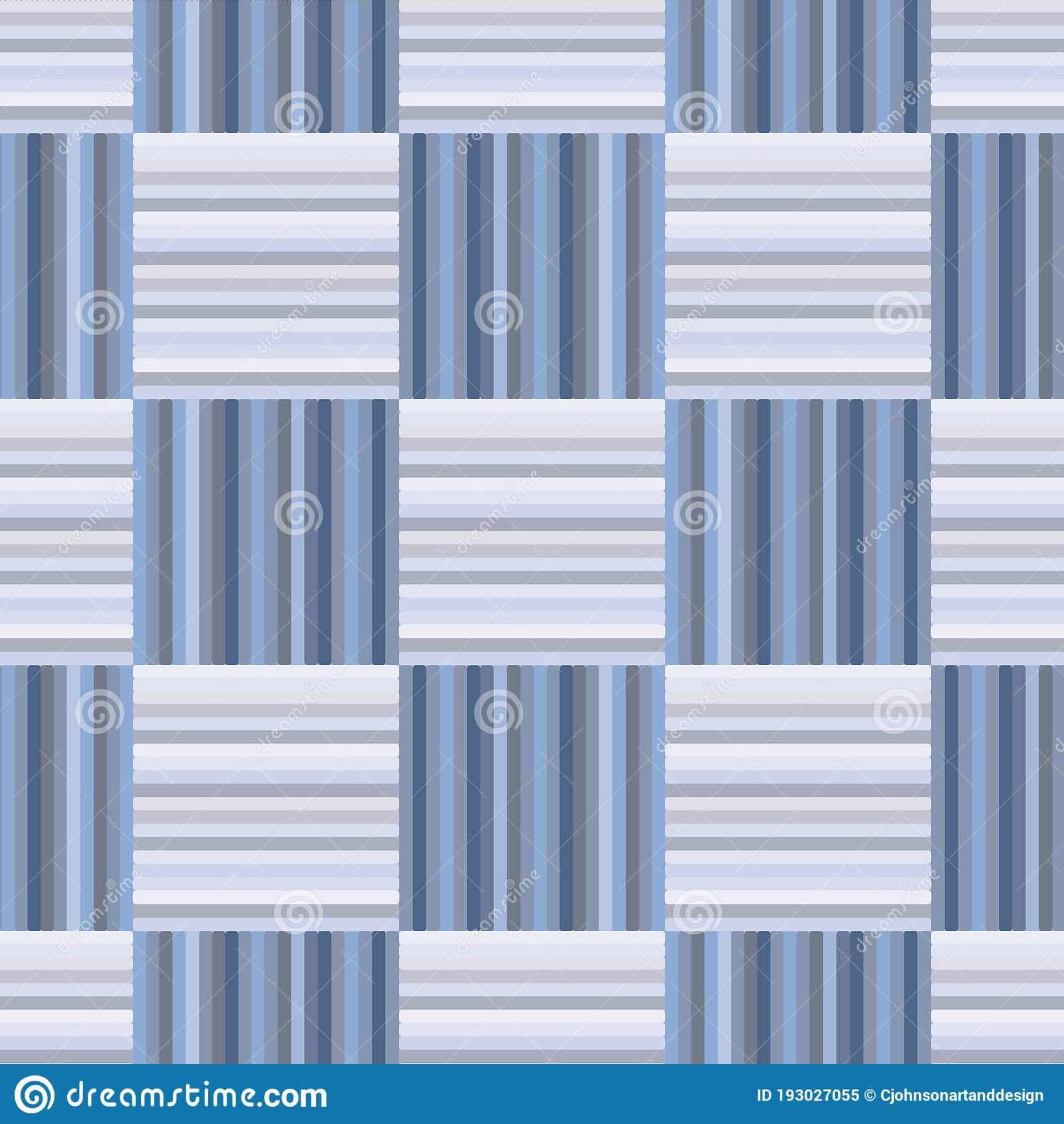 Vector Blue And Gray Check Textile Seamless Pattern Background Stock Illustration Illustration Of Mens Grey 193027055