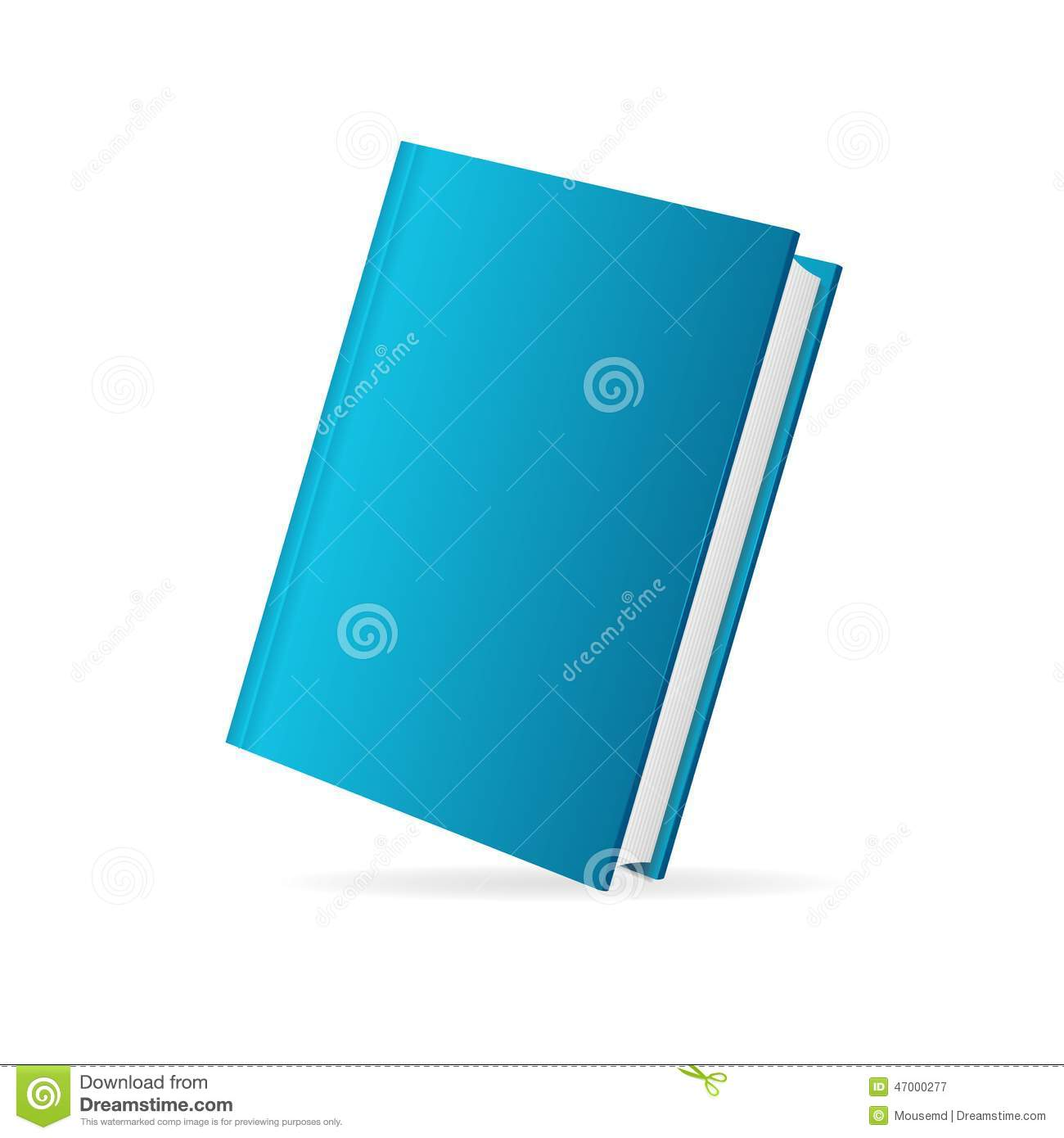 Parsley Illustration Vector Book Cover Blue...