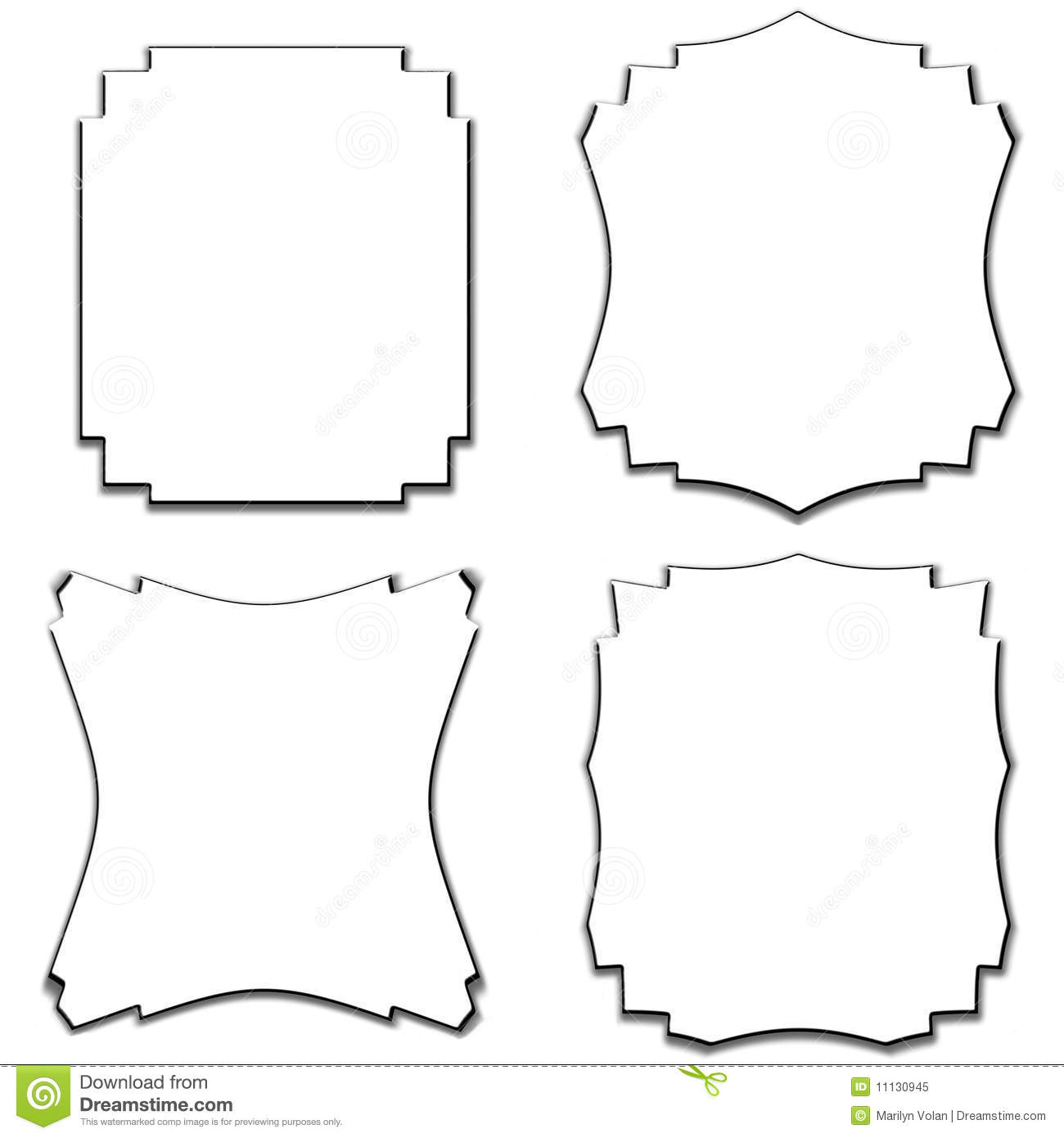 word how to change border of a shape