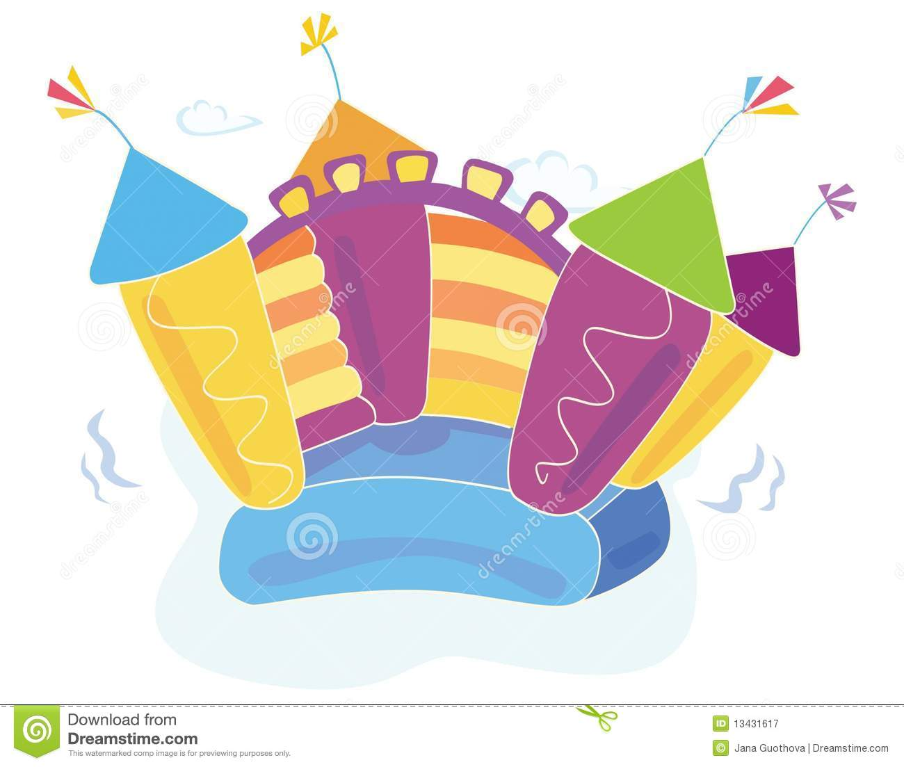 free bounce house clipart - photo #19