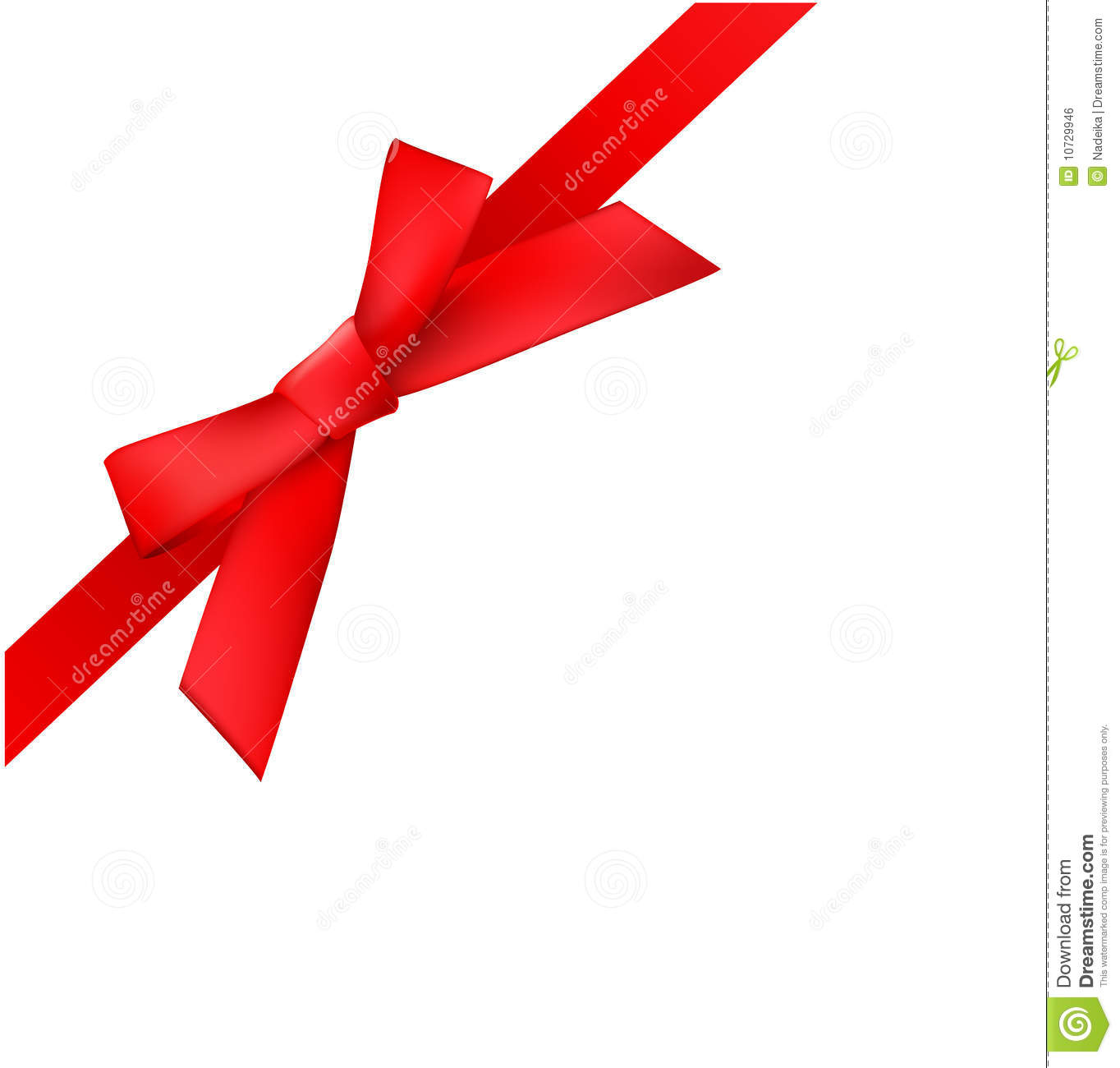 Royalty Free Stock Image Vector Bow Image10729946