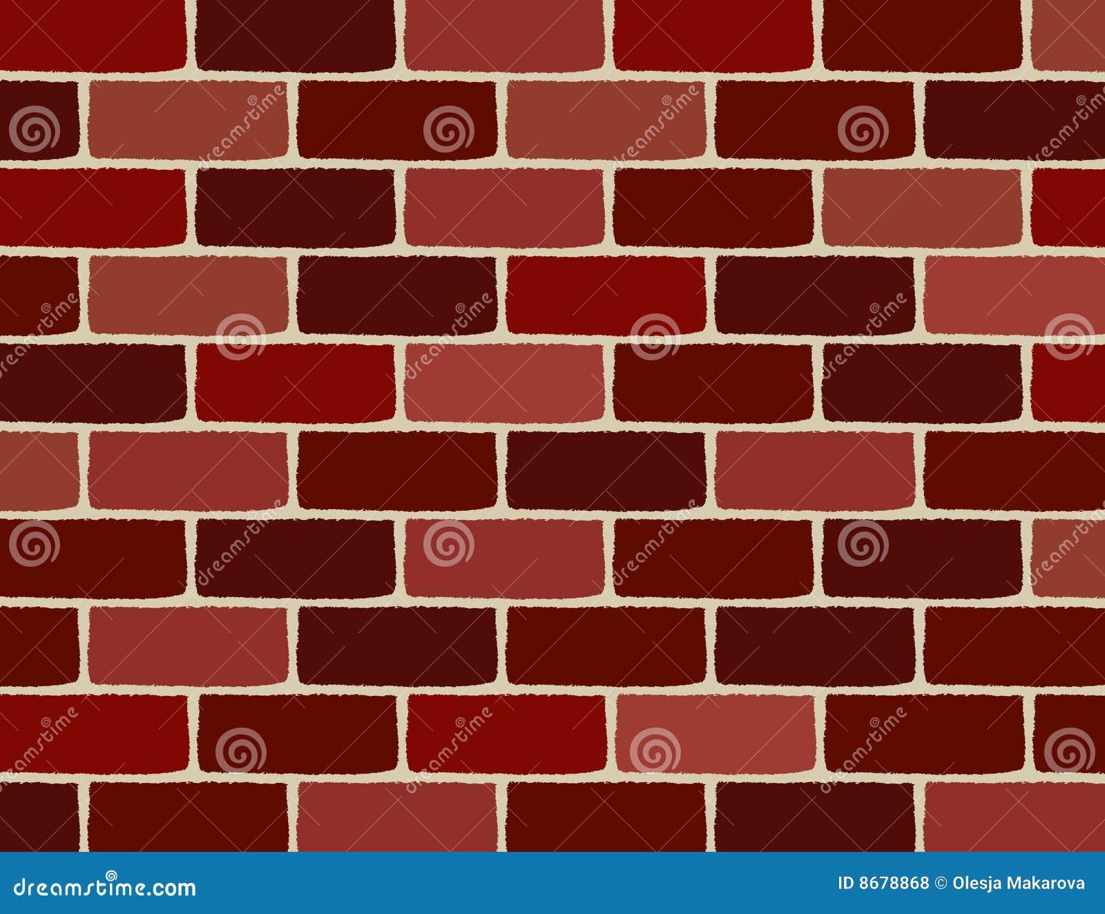 Vector Brick Wall Stock Vector Illustration Of Building