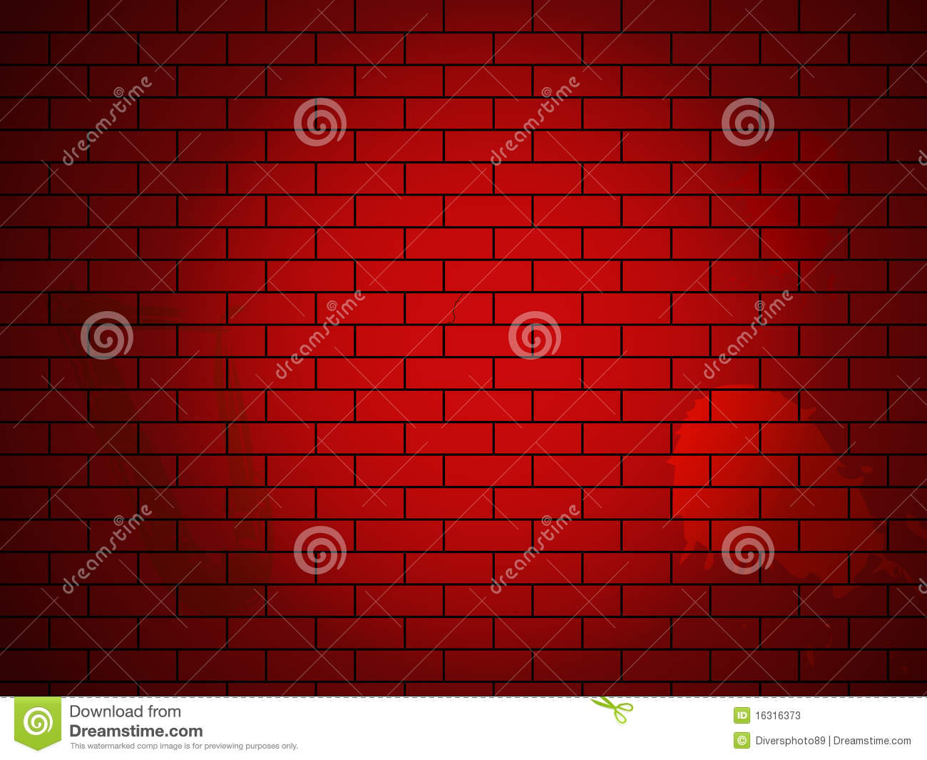Brick Vector Picture Brick Veneers: Vector Brick Wall Made Of Red Bricks Stock Photos