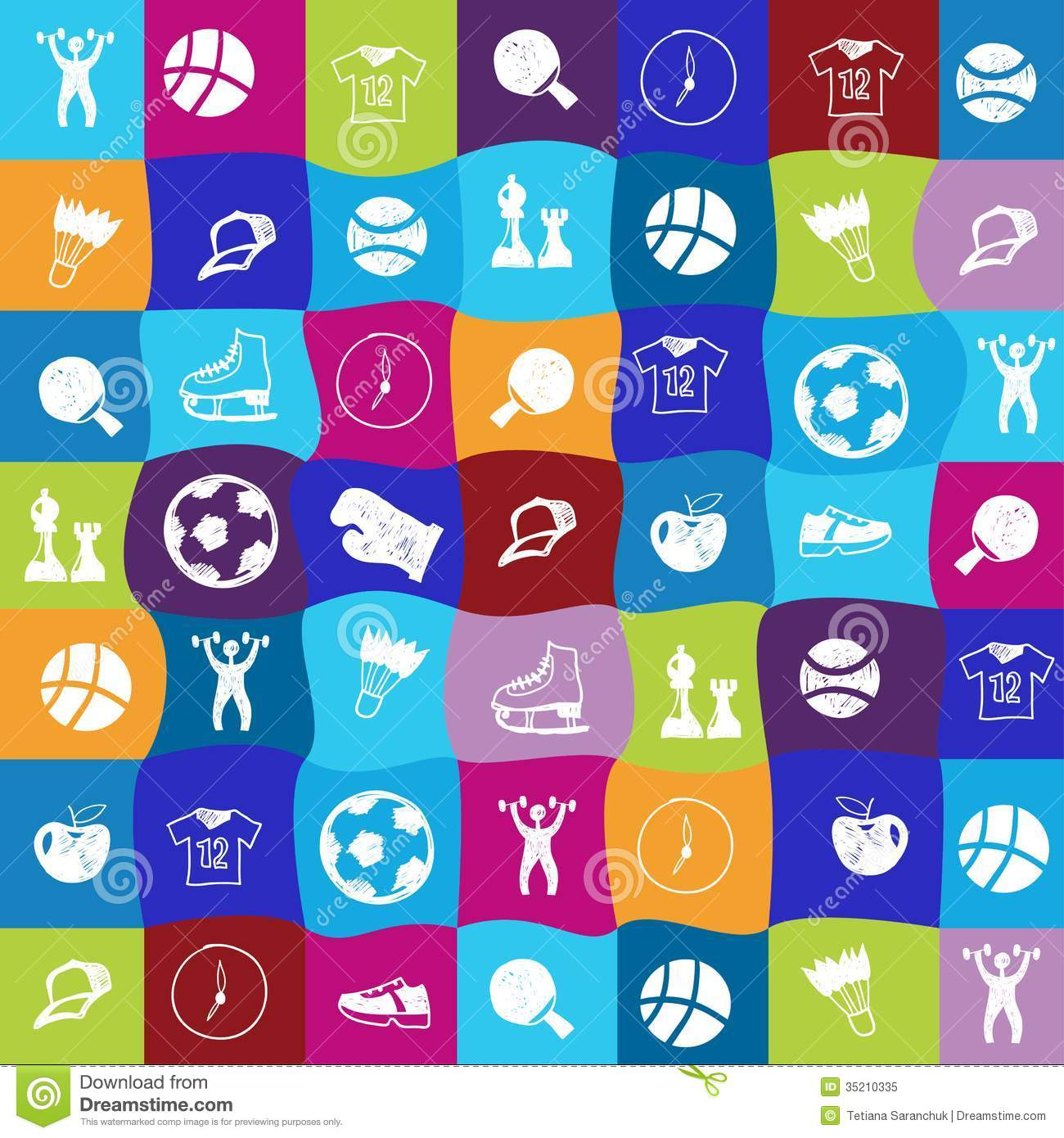 Dumbbell Icon Vector Vector Bright Sports I...