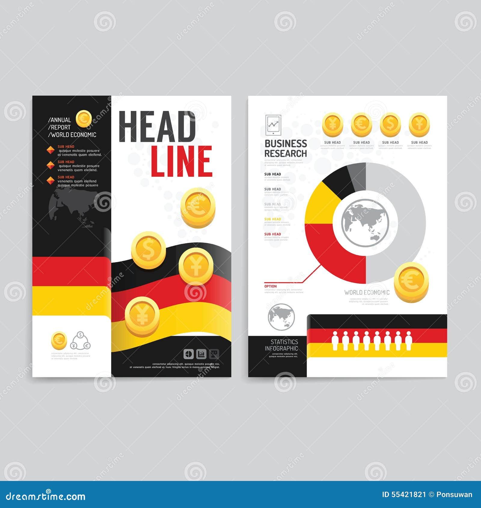 Poster design business - Vector Brochure Flyer Magazine Cover Booklet Poster Design Tem Stock Image