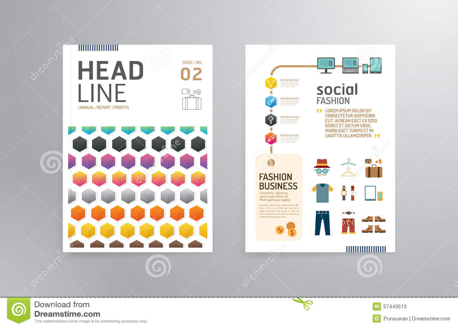 Magazine Cover Design Stock Illustrations 277 532 Magazine Cover Design Stock Illustrations Vectors Clipart Dreamstime