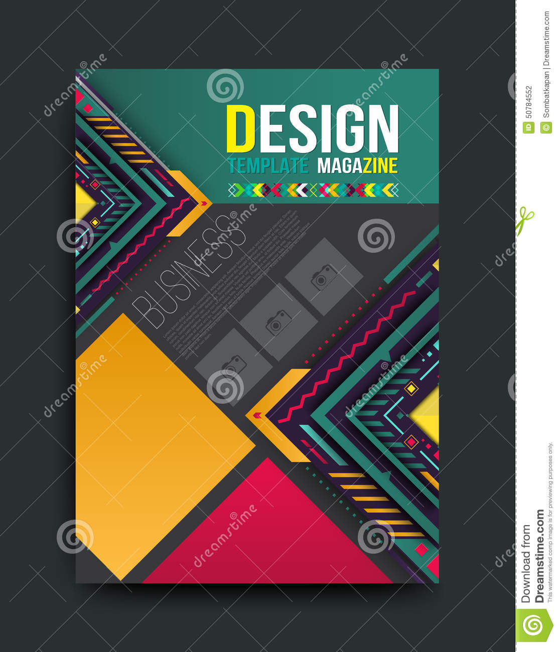 Vector Brochure Flyer Magazine: Vector Brochure, Flyer, Magazine Cover And Poster Template