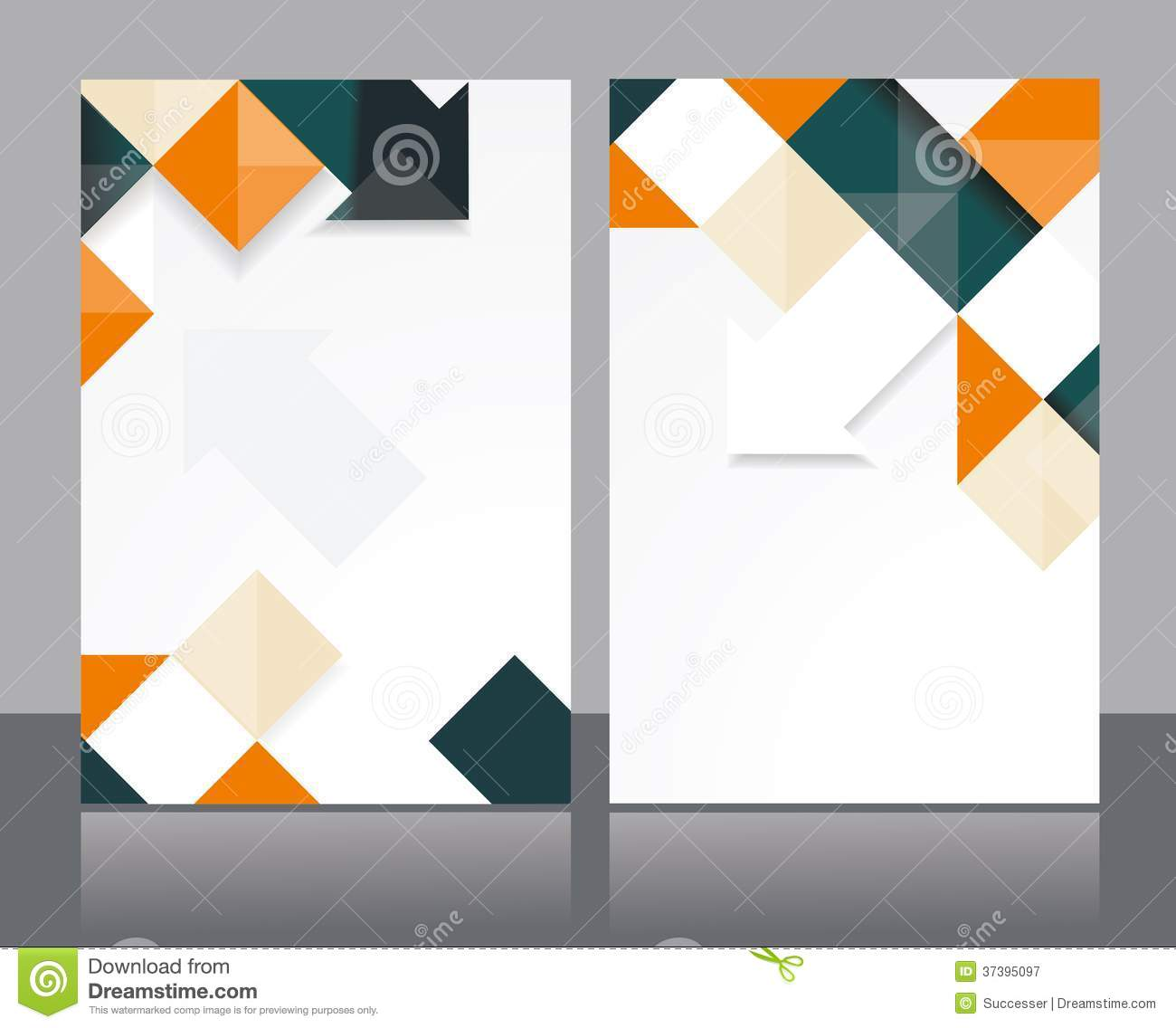 design a brochure free templates - vector brochure template design stock vector image 37395097
