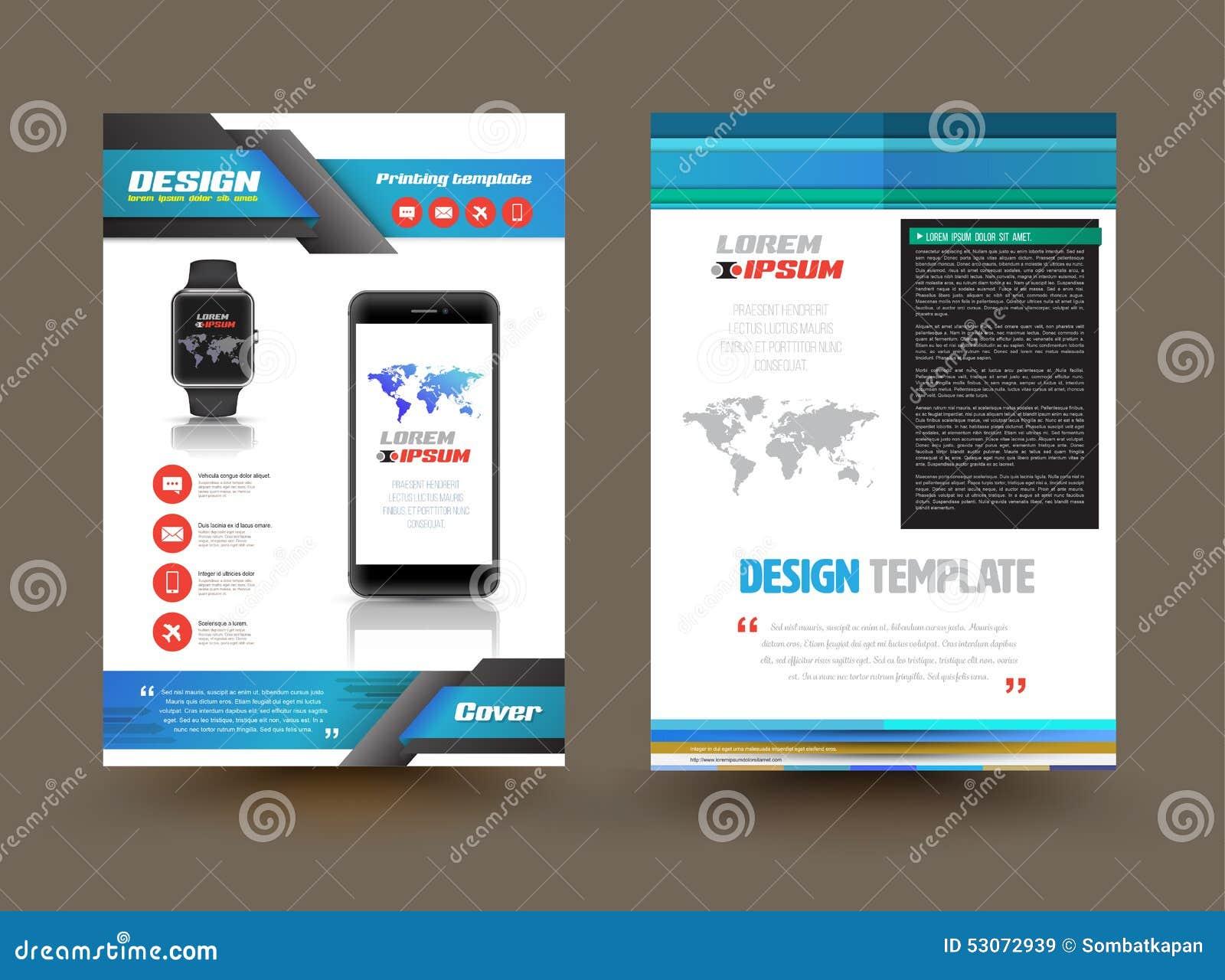 free electronic brochure templates strongwindballs