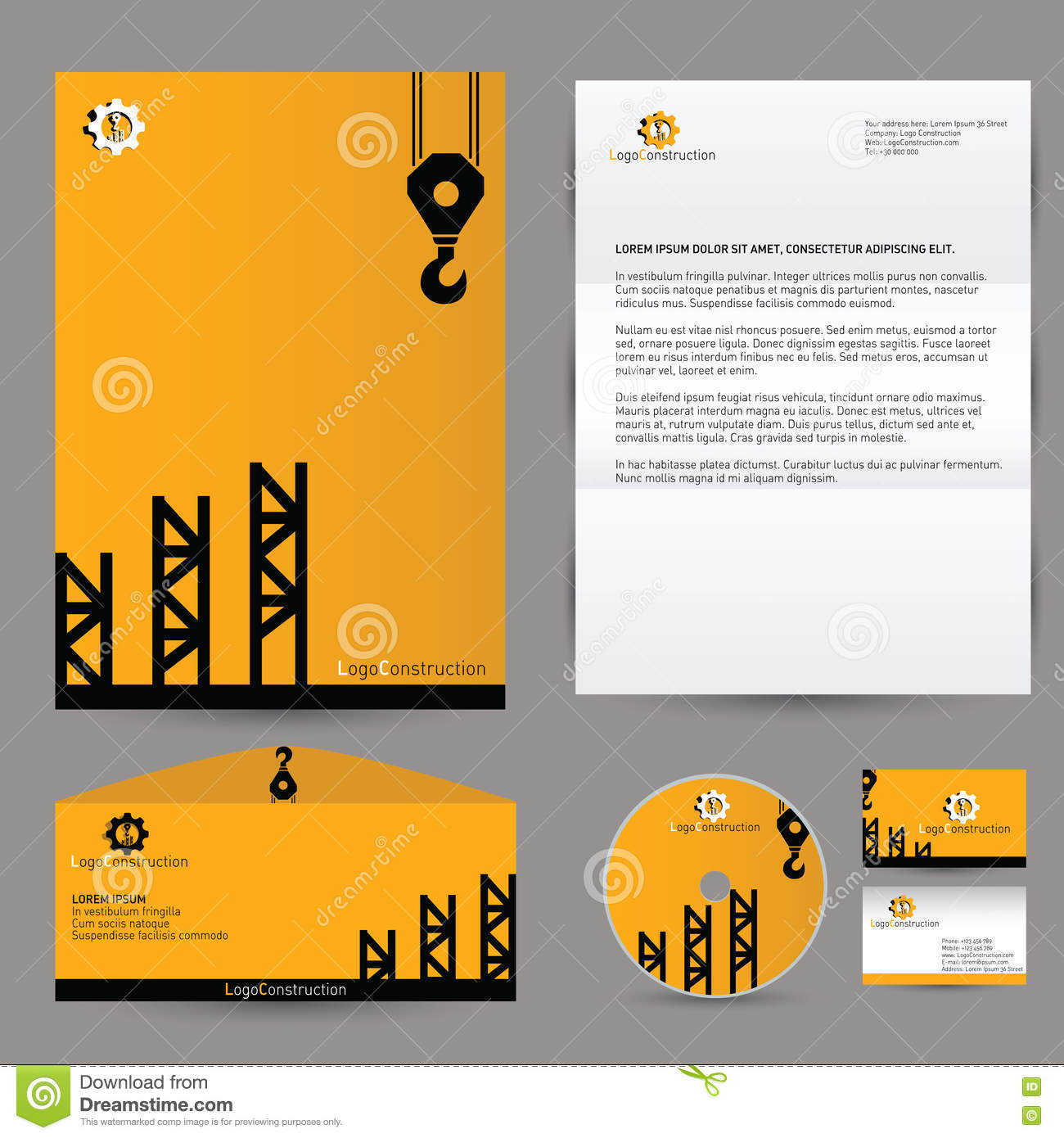 Construction Business Card Templates Download Free Image - Construction business cards templates free