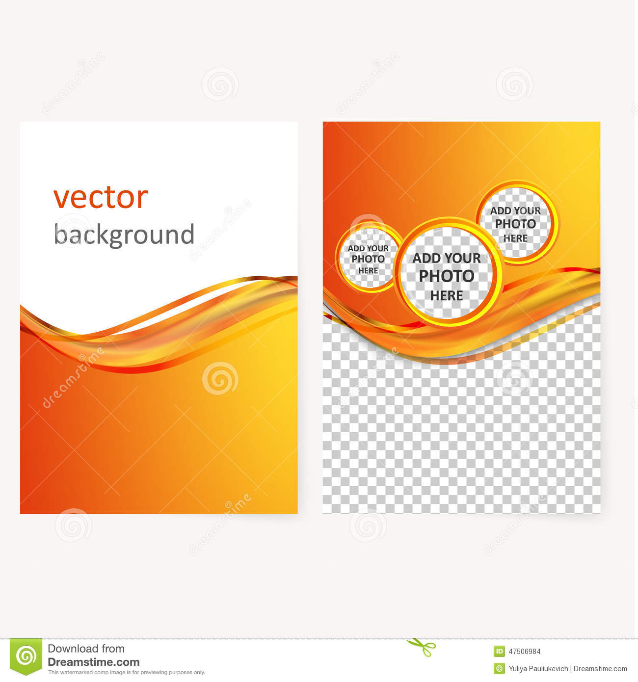 Vector business brochure flyer template stock vector illustration vector business brochure flyer template accmission Images