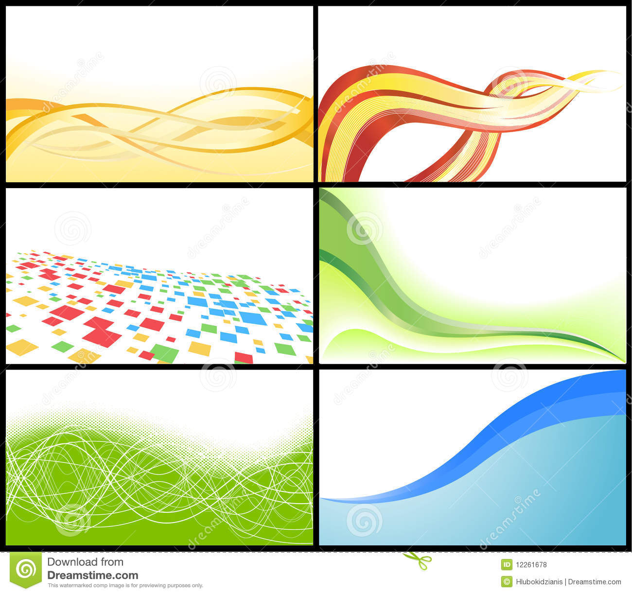 Vector business card stock vector. Image of creative - 12261678
