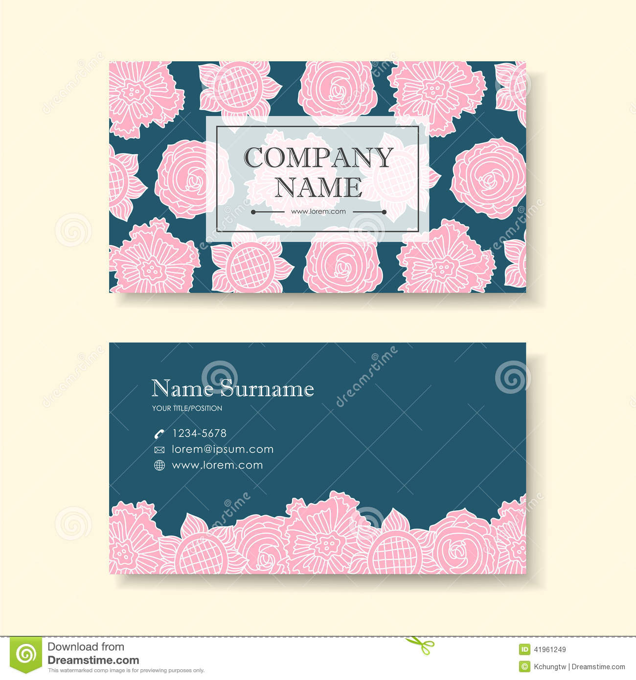 flower business cards - Mado.sahkotupakka.co
