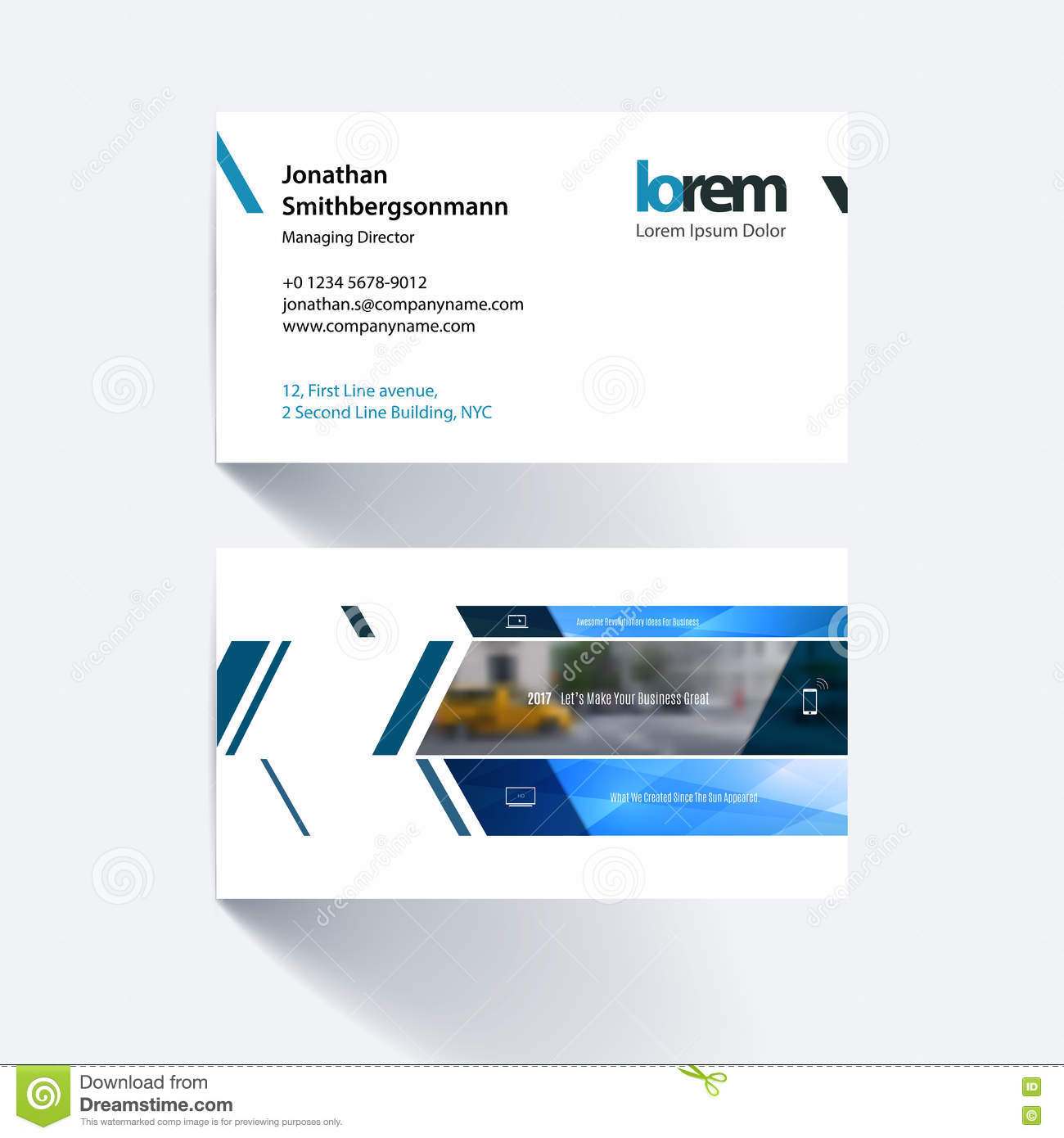 Vector business card template with banner and diagonals for eng royalty free vector download vector business card template with banner and diagonals reheart Images