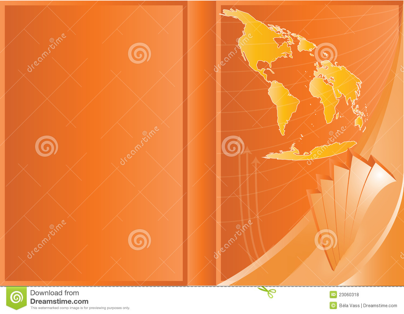 vector business cover design royalty free stock photos
