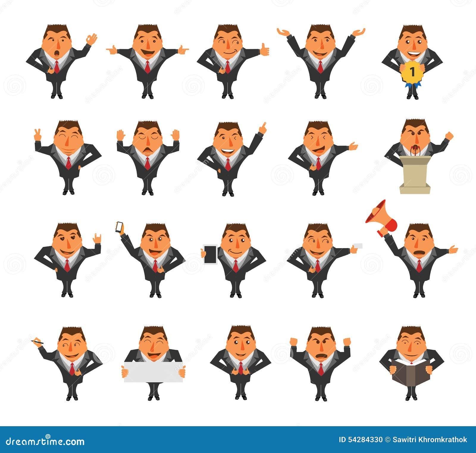 Cartoon Characters Ideas : Vector businessman cartoon character stock image