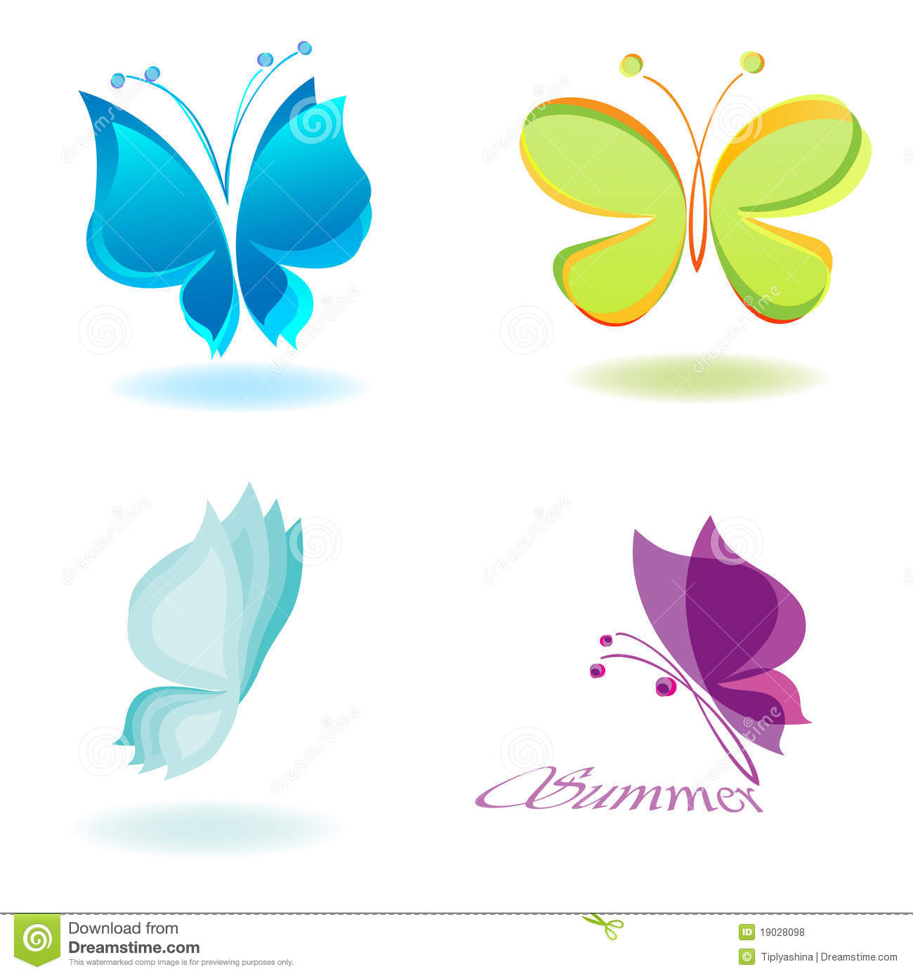free butterflies vectors download free vector art stock