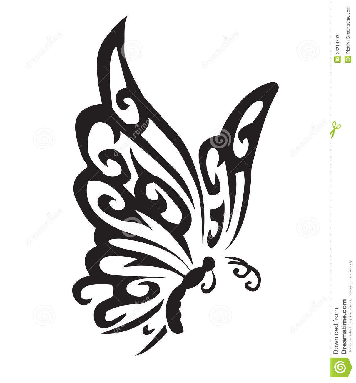 Vector Butterfly Stock Photos - Image: 23214793