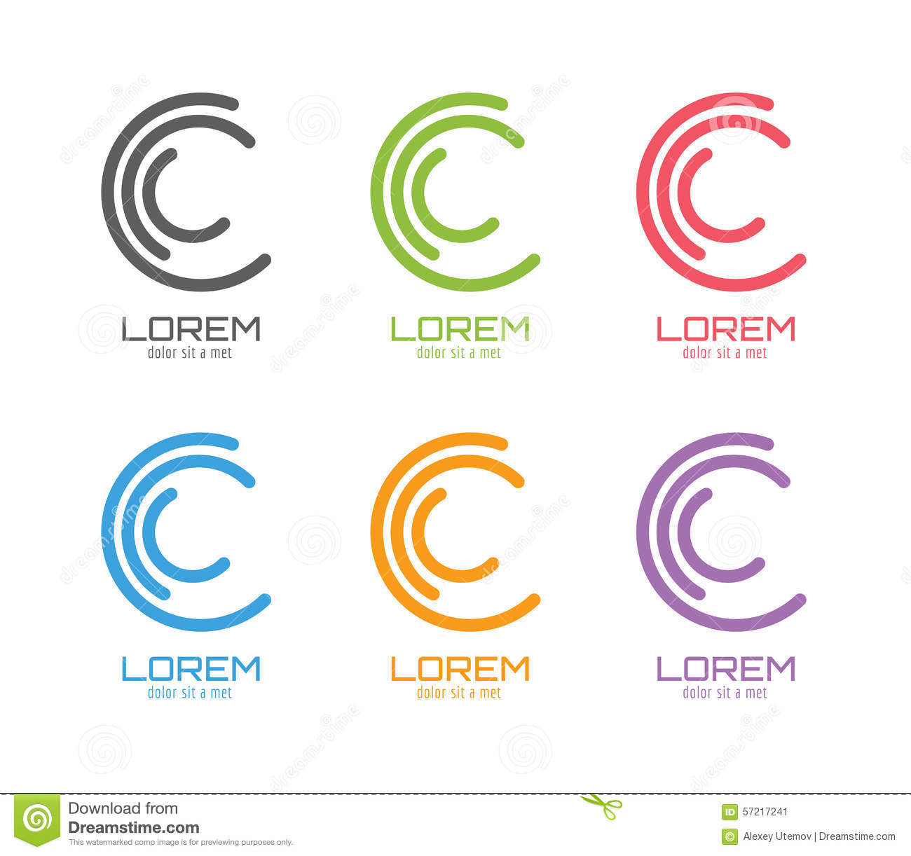 vector c logo template set abstract circle shape stock infinity symbol clip art outline infinity symbol clip art jpg free
