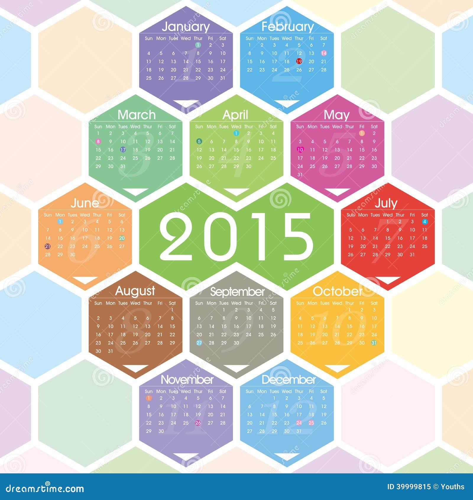 Calendar Design Pattern : Vector calendar stock illustration of