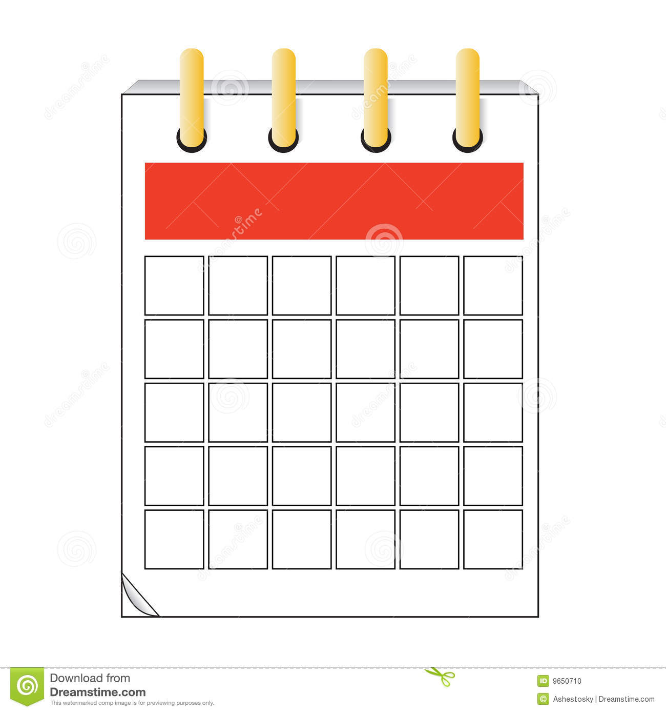 Blank Calendar Icon Vector : Vector calendar icon design stock photo image
