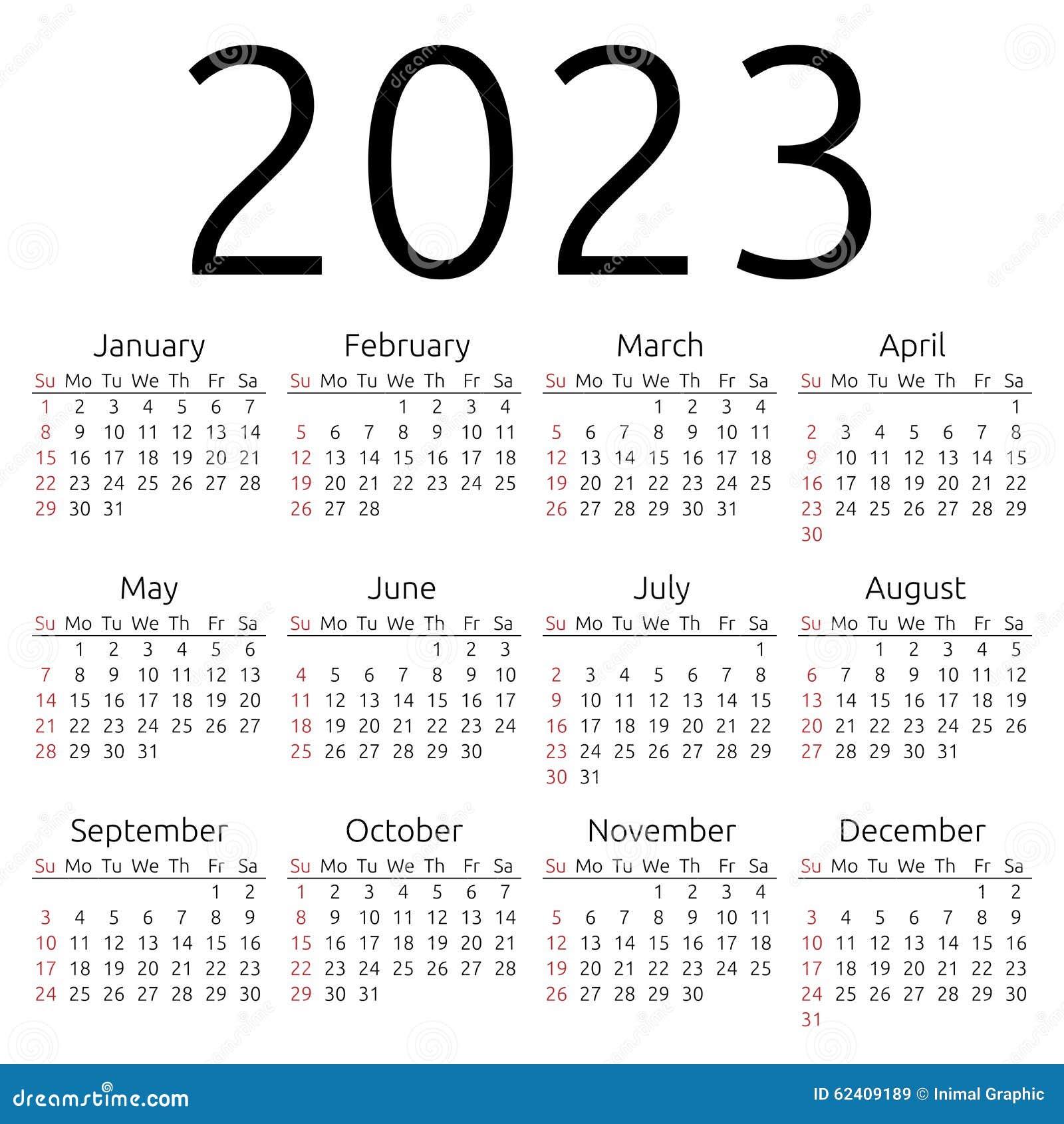 year of calendar