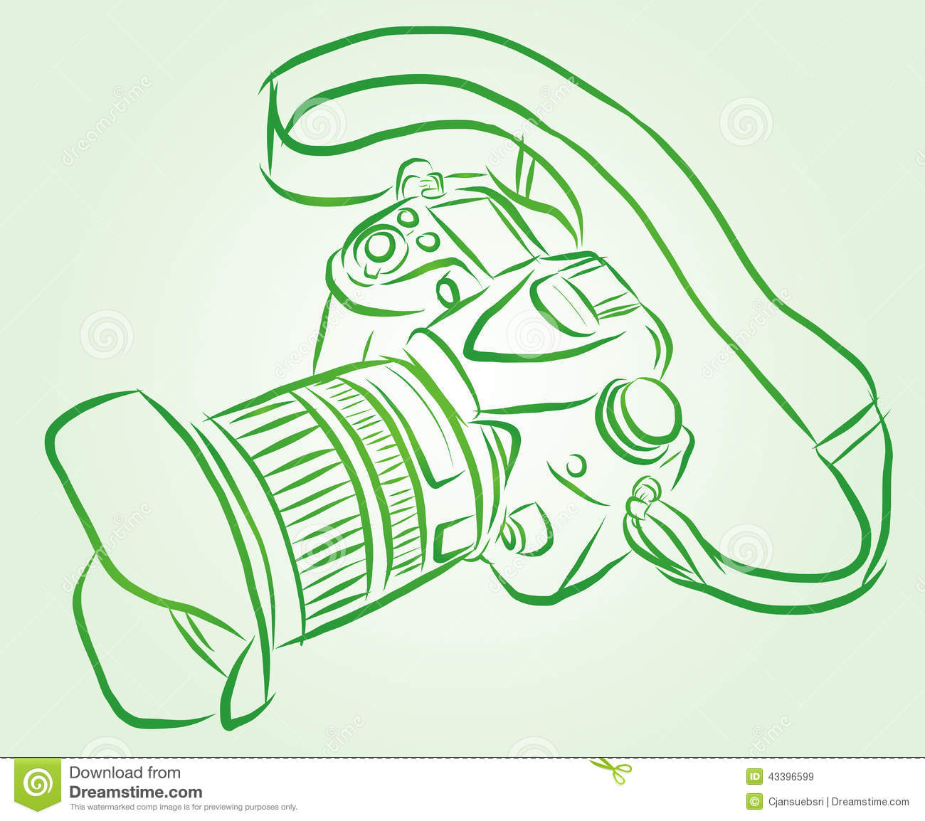 Vector camera stock illustration image of technology for Sketch online free