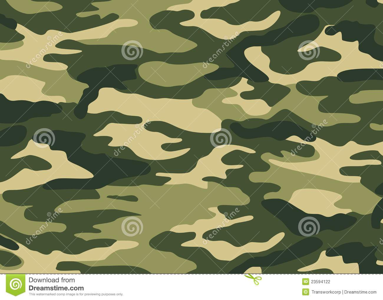 Vector Camouflage Background Stock Photography Image