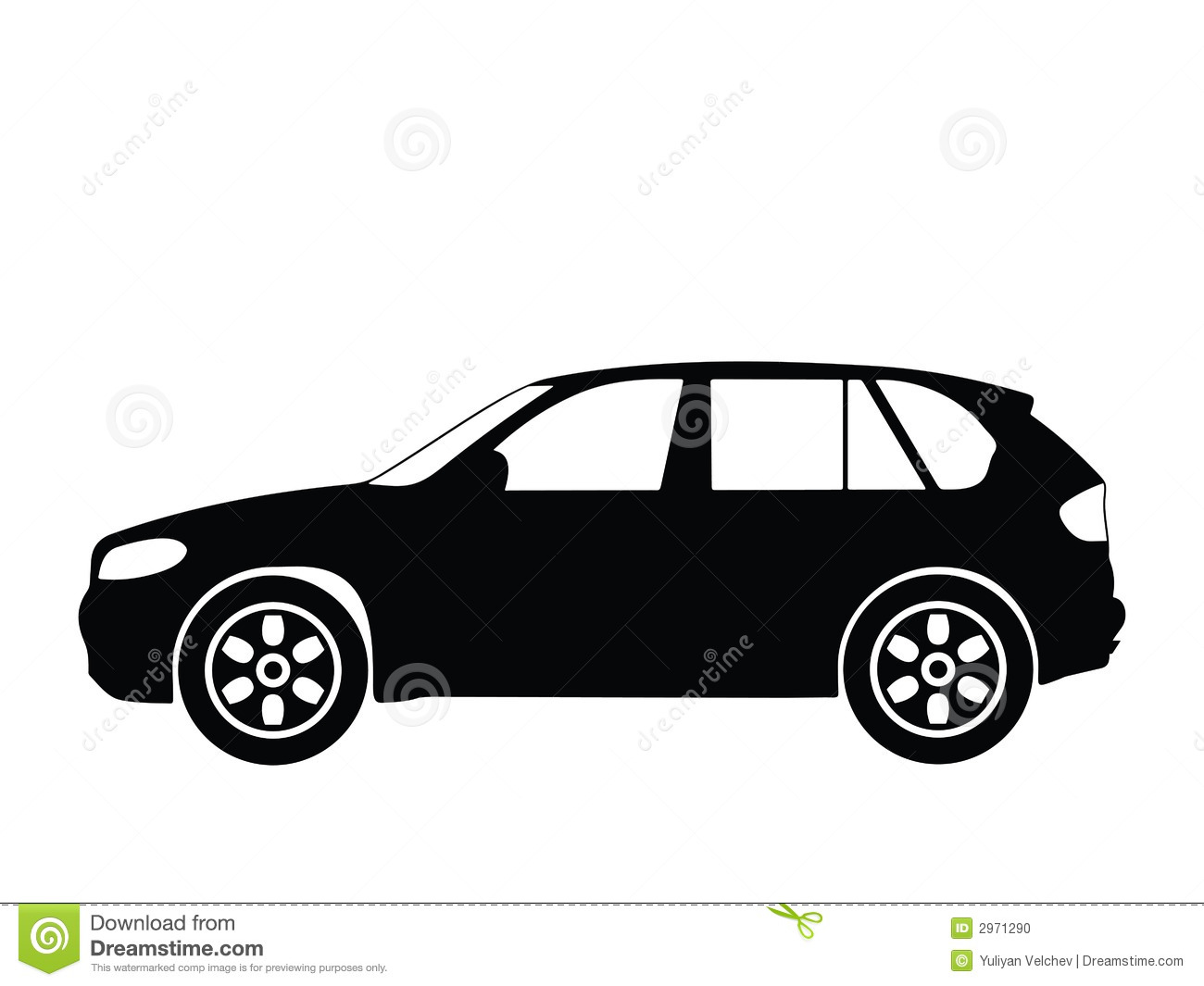 Vector Car 2 Stock Vector Illustration Of Cars Light